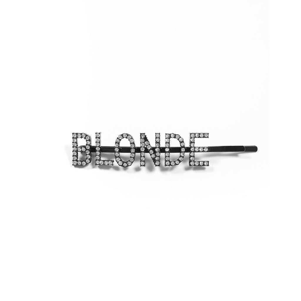 "Brunette the Label The ""BLONDE"" Hair Clip 