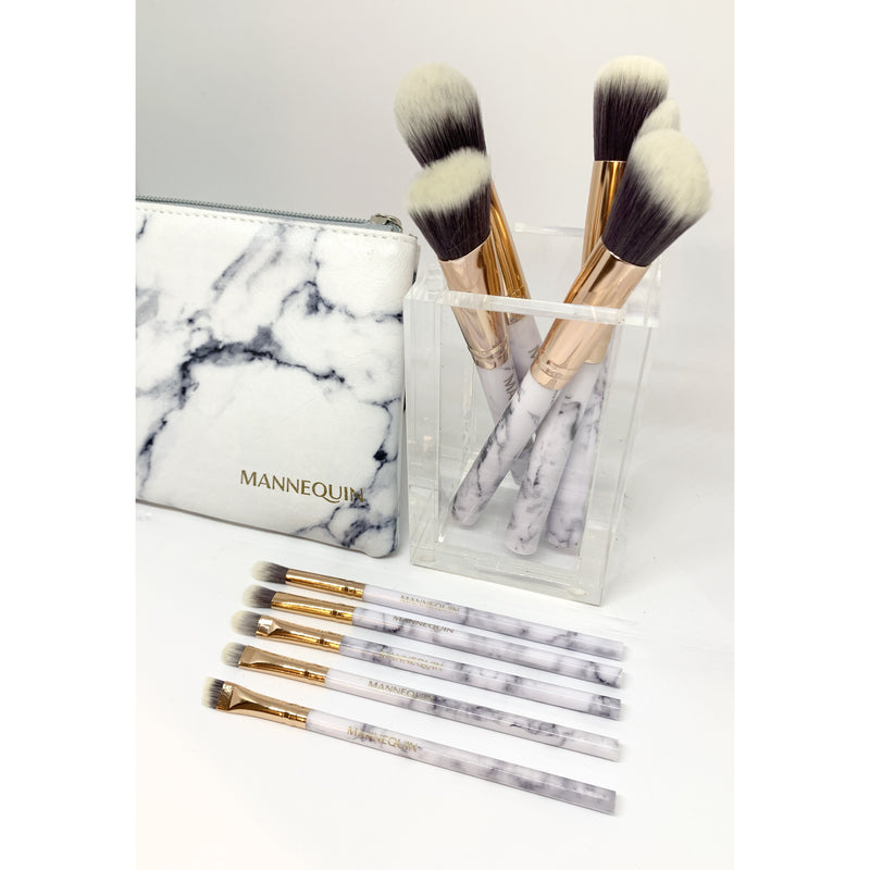 Mannequin Makeup Brush Set