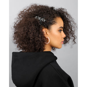 "The ""JET BLACK"" Hair Clip 