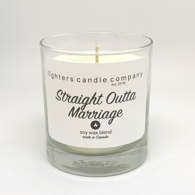 Straight Outta Marraige Candle
