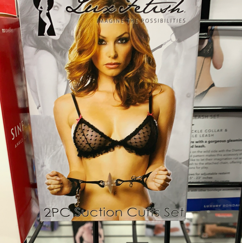 Suction Cuffs Set - The Lingerie Store