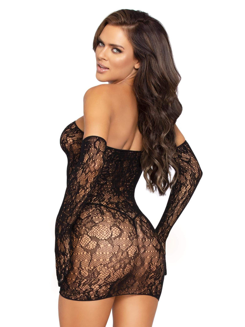 Lace Tube Dress Set
