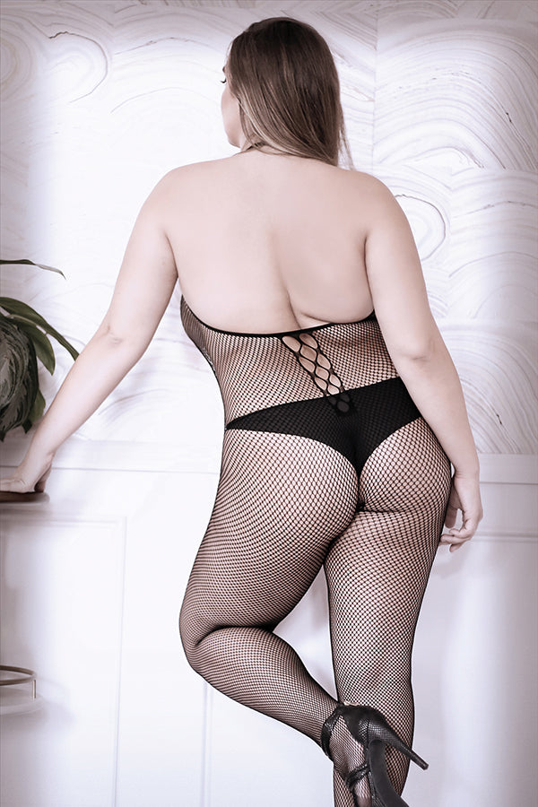 Adore You Fishnet Bodystocking Queen Size