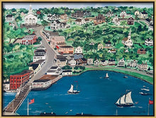 "Load image into Gallery viewer, ""Mystic, Connecticut"" - Limited Edition Print, Signed & Numbered. Solasta Studios Exclusive Collection of Artists Martha & Jon McElroy."