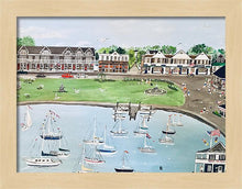 "Load image into Gallery viewer, ""Watch Hill, Rhode Island"" - Limited Edition Print, Signed & Numbered. Solasta Studios Exclusive Collection of Artists Martha & Jon McElroy."