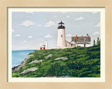 "Load image into Gallery viewer, ""Pemaquid Point Light, Maine"" - Limited Edition Print, Signed & Numbered. Solasta Studios Exclusive Collection of Artists Martha & Jon McElroy."