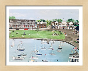 """Watch Hill, Rhode Island"" - Limited Edition Print, Signed & Numbered. Solasta Studios Exclusive Collection of Artists Martha & Jon McElroy."