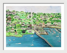 "Load image into Gallery viewer, ""Padanaram, Massachusetts"" - Limited Edition Print, Signed & Numbered. Solasta Studios Exclusive Collection of Artists Martha & Jon McElroy."