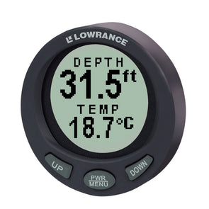 Lowrance LST-3800 In-Dash Digital Depth & Temp Guage w-TM Transducer [47-94]