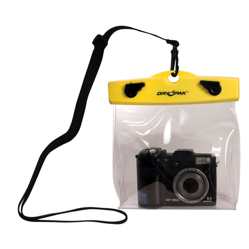 "Dry Pak Camera Case - 6"" x 5"" x 1-1-2"" - Clear [DP-65C]"