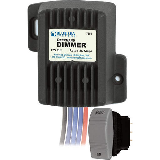 Blue Sea 7508 DeckHand Dimmer - 25 Amp-12V [7508]