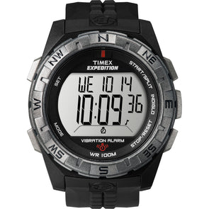 Timex Expedition Vibrate Alert Watch - Full Size - Black [T49851]
