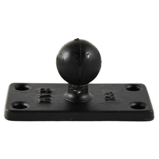 "RAM Mount 1.5"" x 3"" Rectange Base w-1"" Ball [RAM-B-202U-153]"