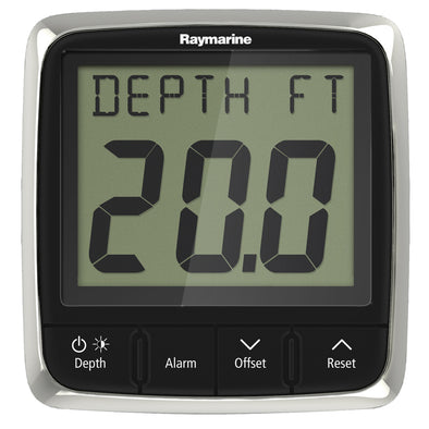 Raymarine i50 Depth Display System w-Thru-Hull Transducer [E70148]