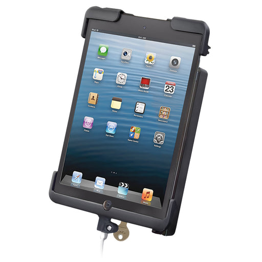 RAM  Mount TAB DOCK-N-LOCK Cradle f-Apple iPad Mini [RAM-HOL-TABL11U]