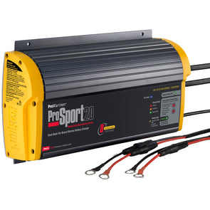 ProMariner ProSport 20 Gen 3 Heavy Duty On-Board Marine Battery Charger - 20 Amp - 2 Bank [43020]