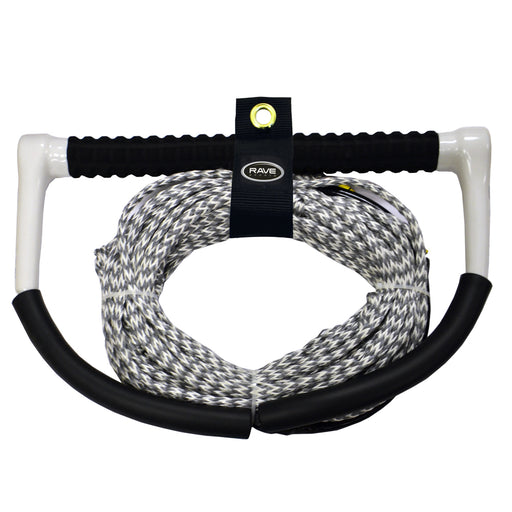 RAVE Fuse Handle w-PolyBond DE Line Ski-Wakeboard Rope - 75' [02336]