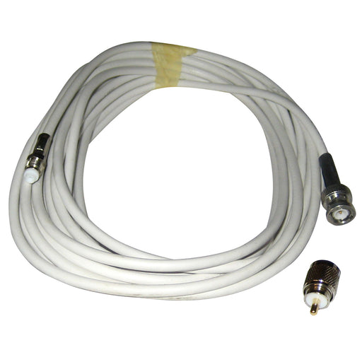Comrod VHF RG58 Cable w-BNC & PL259 Connectors - 12M [21777]