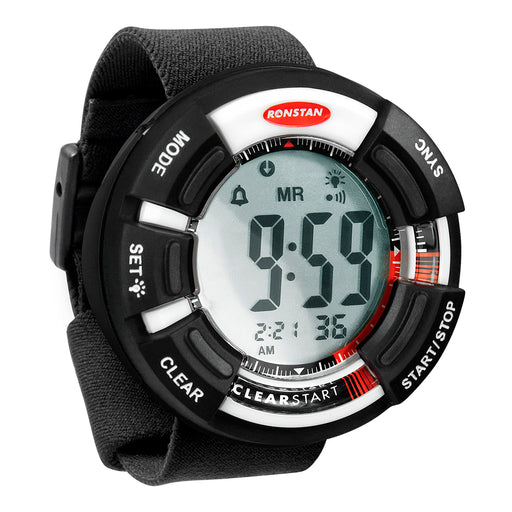 "Ronstan Clear Start Race Timer - 65mm (2-9-16"") - Black-White [RF4050]"