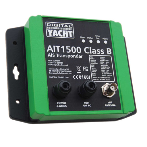 Digital Yacht AIT1500 Class B AIS Transponder w-Built-In GPS [ZDIGAIT1500]