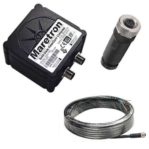 Maretron Solid-State Rate-Gyro Compass w-10m Cable & Connector [SSC300-01-KIT]