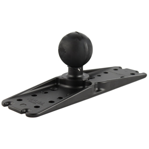 "RAM Mount 11"" x 3"" Rectangle Universal Electronics Base w-2.25"" Ball [RAM-D-111BU]"