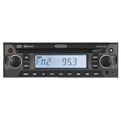 JENSEN JDVD1500 AM-FM-CD-DVD-Bluetooth Stereo [JDVD1500]
