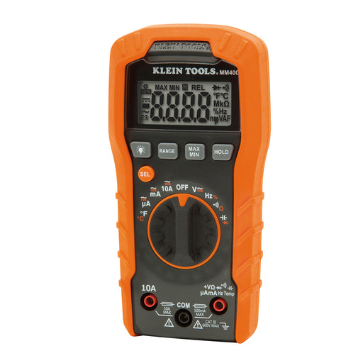 Klein Tools Digital Multimeter - Auto-Ranging - 600V [MM400]