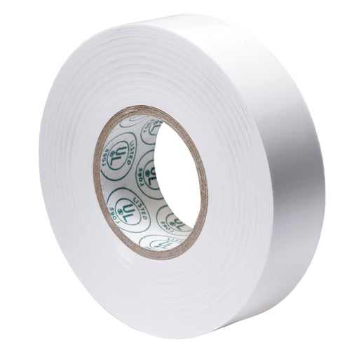 "Ancor Premium Electrical Tape - 3-4"" x 66' - White [337066]"