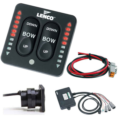 Lenco LED Indicator Two-Piece Tactile Switch Kit w-Pigtail f-Single Actuator Systems [15270-001]