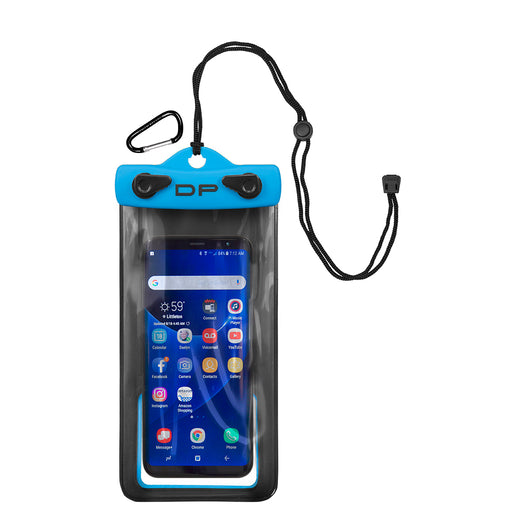 "Dry Pak Smartphone, GPS, MP3 Case - 4"" x 7"" - Electric Blue [DP-47EB]"