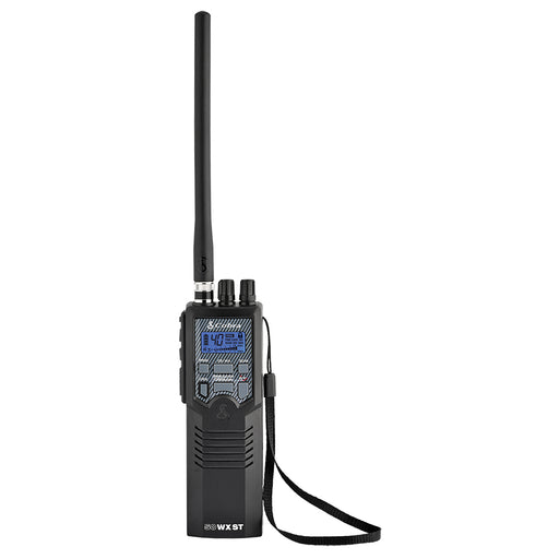 Cobra HH50 WX ST Citizens Band 2-Way Handheld CB Radio w-SoundTracker Noise Reduction System [HH50WXST]