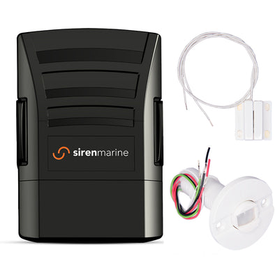 Siren Marine Starter Kit w-MTC, Motion Sensor  Magnetic REED Switch [SMSSKIT]