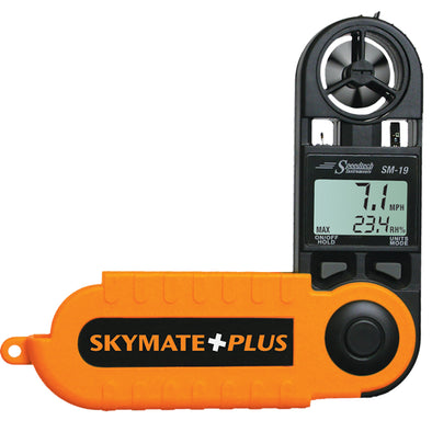 WeatherHawk SM-19 Skymate Plus w-Humidity, Dew Point,  Temp [27021]