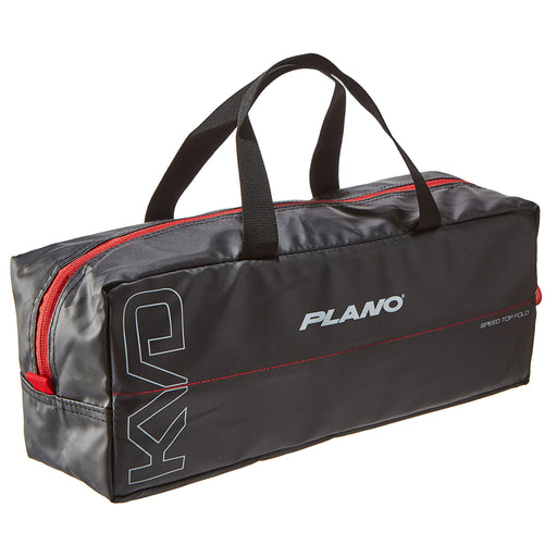 Plano KVD Wormfile Speedbag Large - Holds 40 Packs - Black-Grey-Red [PLAB12700]