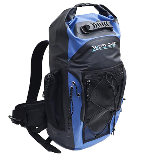 DryCASE Masonboro Blue 35 Liter Waterproof Adventure Backpack [BP-35-BLU]