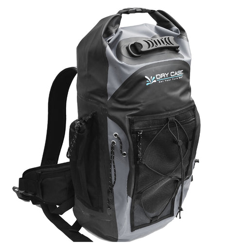 DryCASE Masonboro Gray 35 Liter Waterproof Adventure Backpack [BP-35-GRY]