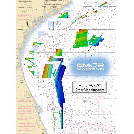 CMOR Mapping North Florida, Georgia  South Carolina f-Raymarine [NEFL002R]