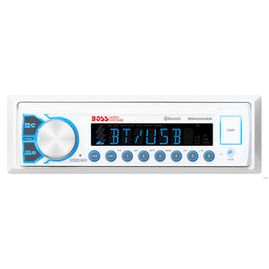Boss Audio Marine Audio Receiver MR400UAB AM-FM-BT - White [MR400UAB]