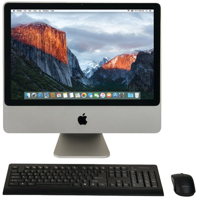 "REFURBISHED Apple MB323LL-A-C2D-2.4-4GB-250GB-10.11 Certified Preloved 250GB 20"" iMac Desktop Computer"
