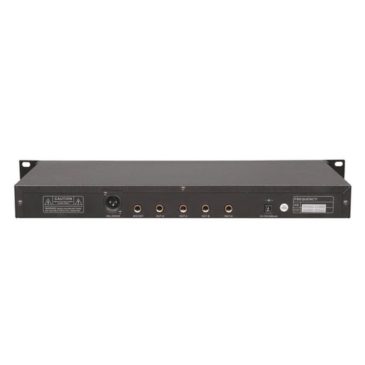 Pyle Pro PDWM4300 4-Microphone VHF Wireless Rack-Mount Microphone System