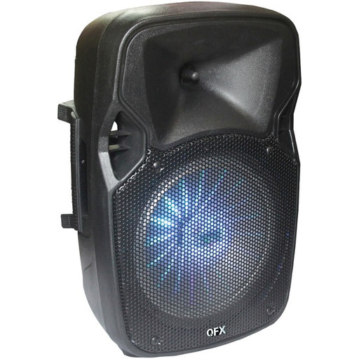 "QFX PBX-811SM 8"" Rechargeable Bluetooth Party Speaker"