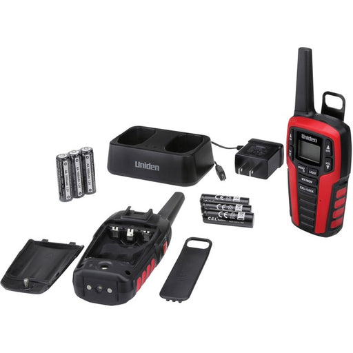Uniden SX327-2CK 32-Mile 2-Way FRS-GMRS Radios (No Headsets)