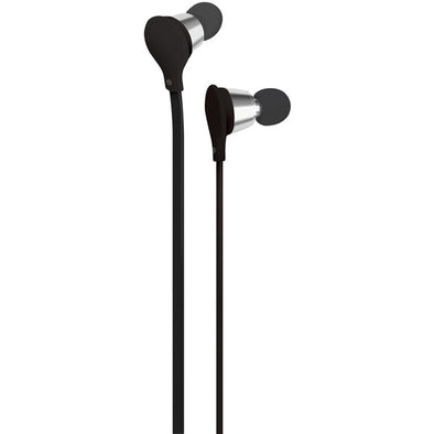 Jive Noise-Isolating Earbuds with Microphone (Black)