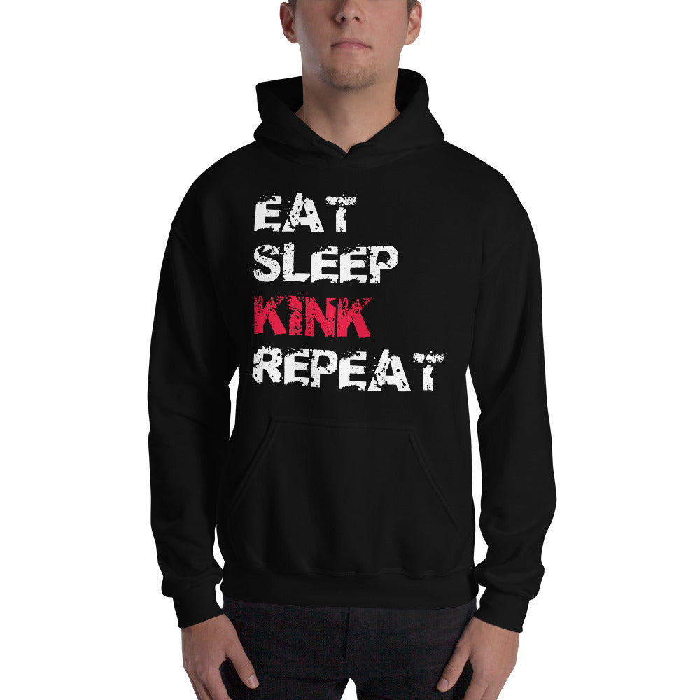 Eat, Sleep, Kink, Repeat Unisex Hoodie