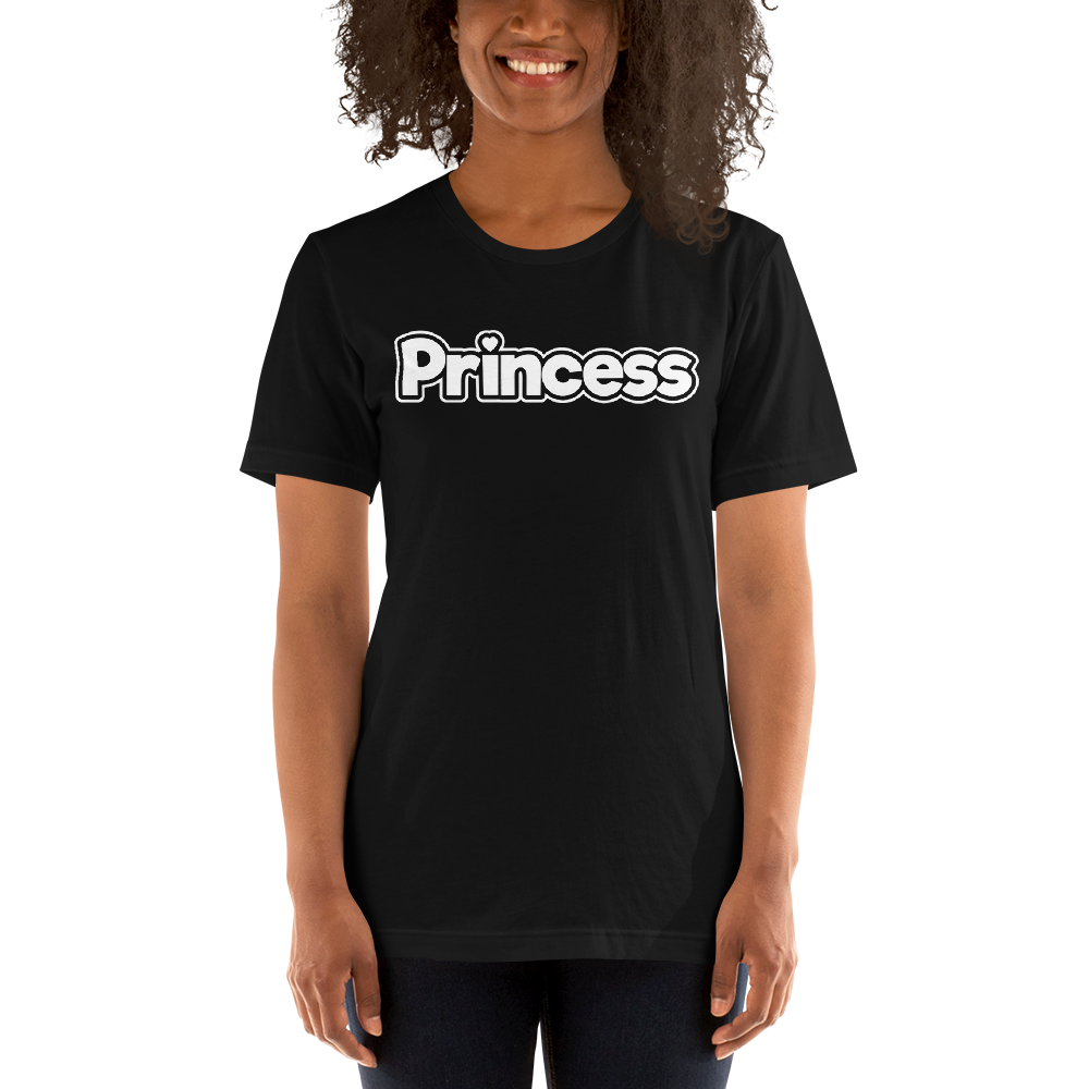 Princess Heart Unisex T-Shirt