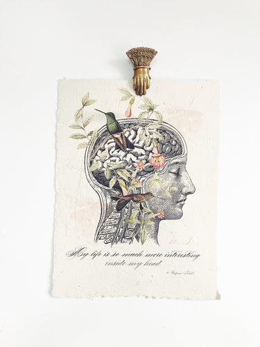INSIDE MY HEAD PRINT