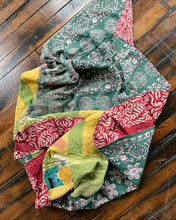 Load image into Gallery viewer, MAGGIE VINTAGE KANTHA