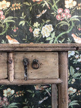 Load image into Gallery viewer, VINTAGE 2-DRAWER CONSOLE TABLE