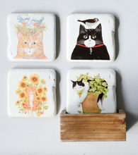 Load image into Gallery viewer, CAT COASTERS